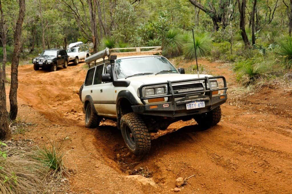 Byford 4WD tracks