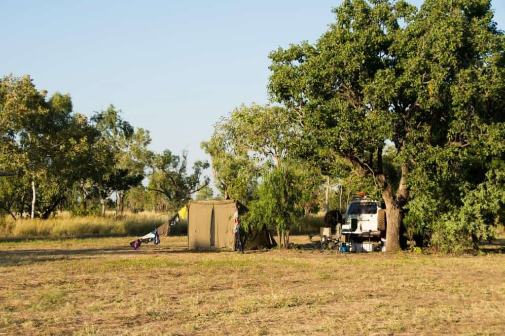 Camped at Windjana