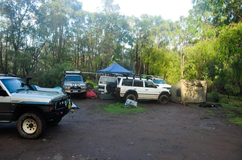 Camping at Brunswick