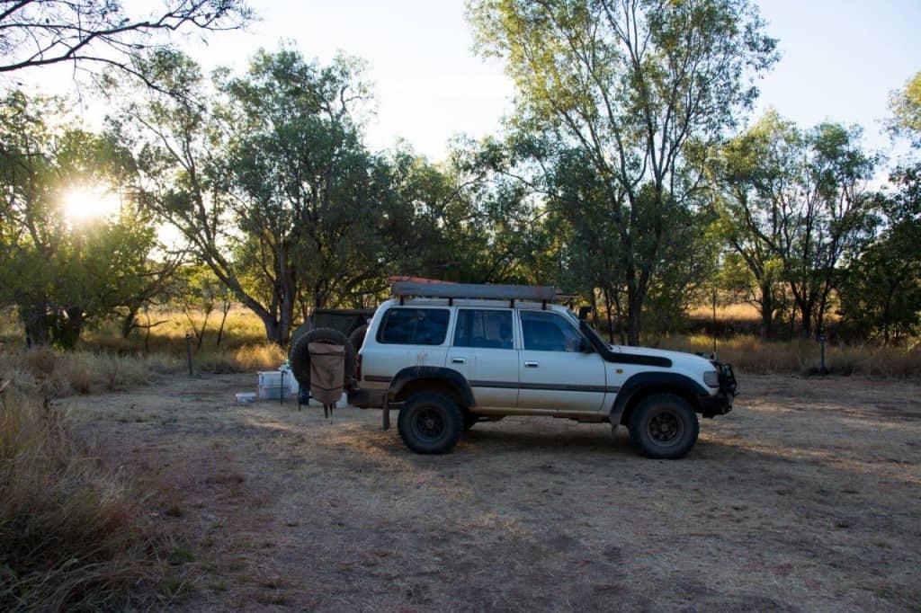 Camping at the Bungle Bungles