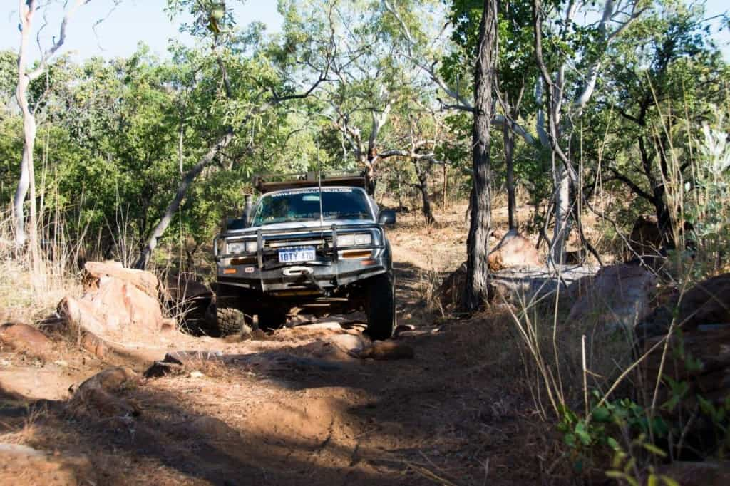 Coming back from Wunumurra Gorge