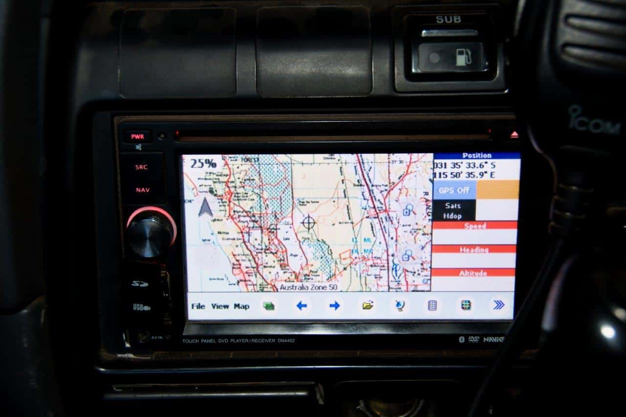 A 4WD GPS