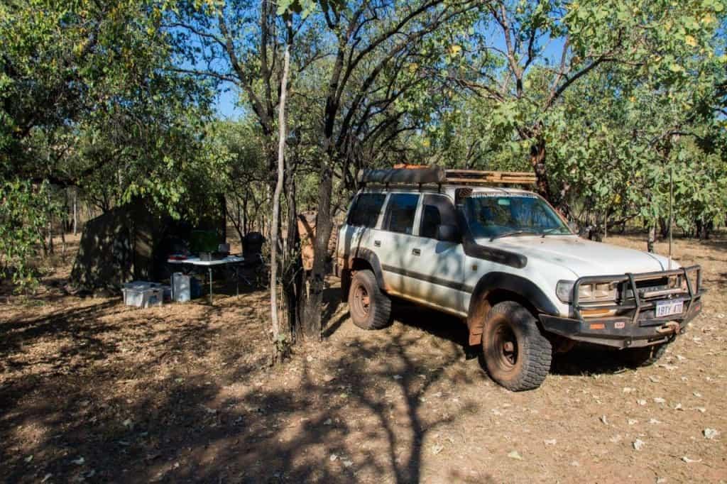 Ellenbrae camping