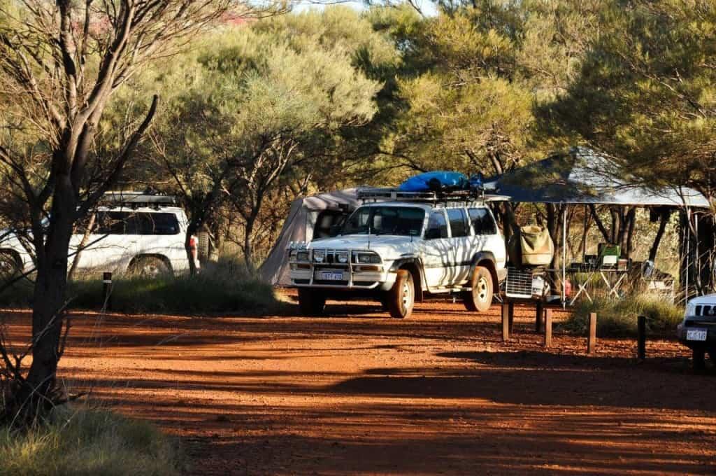 Karijini camping