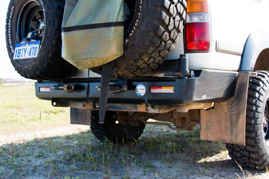 Kaymar Rear Bar 80 Series