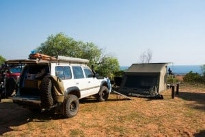 Camping at Kooljaman