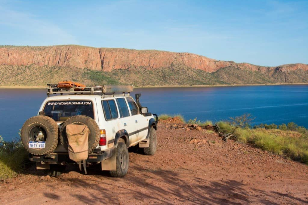 Lake Argyle 4x4 tracks
