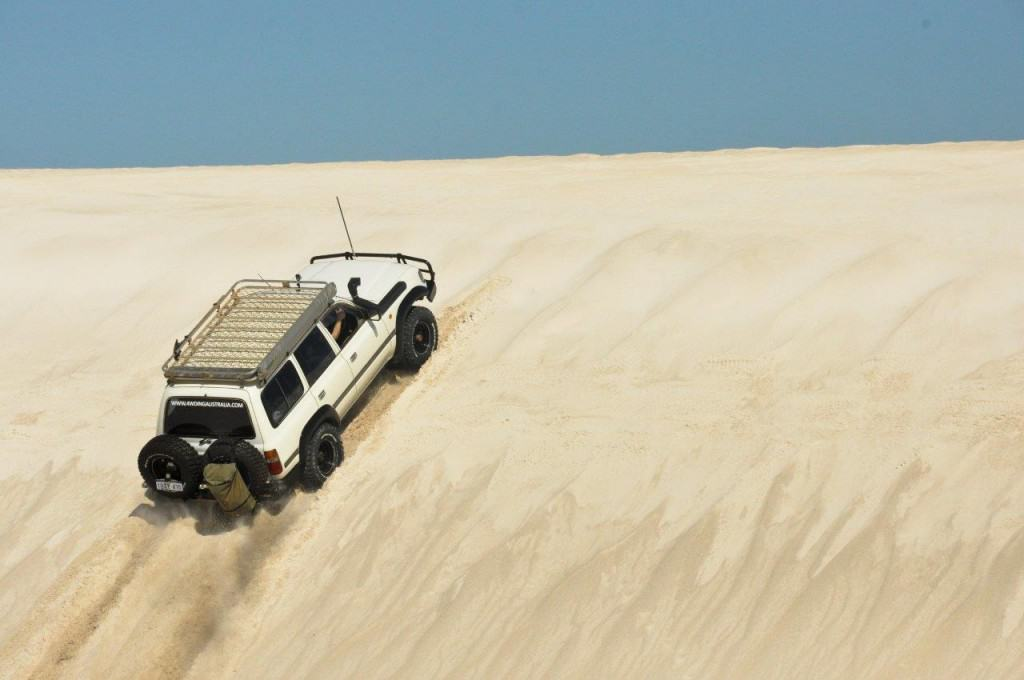 Lancelin dune climb