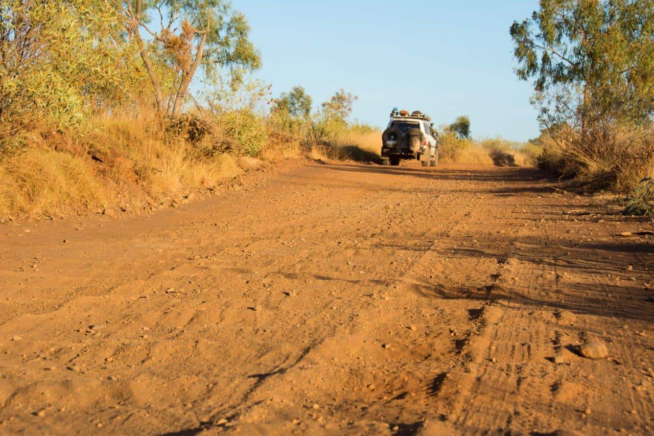 4WD on corrugations