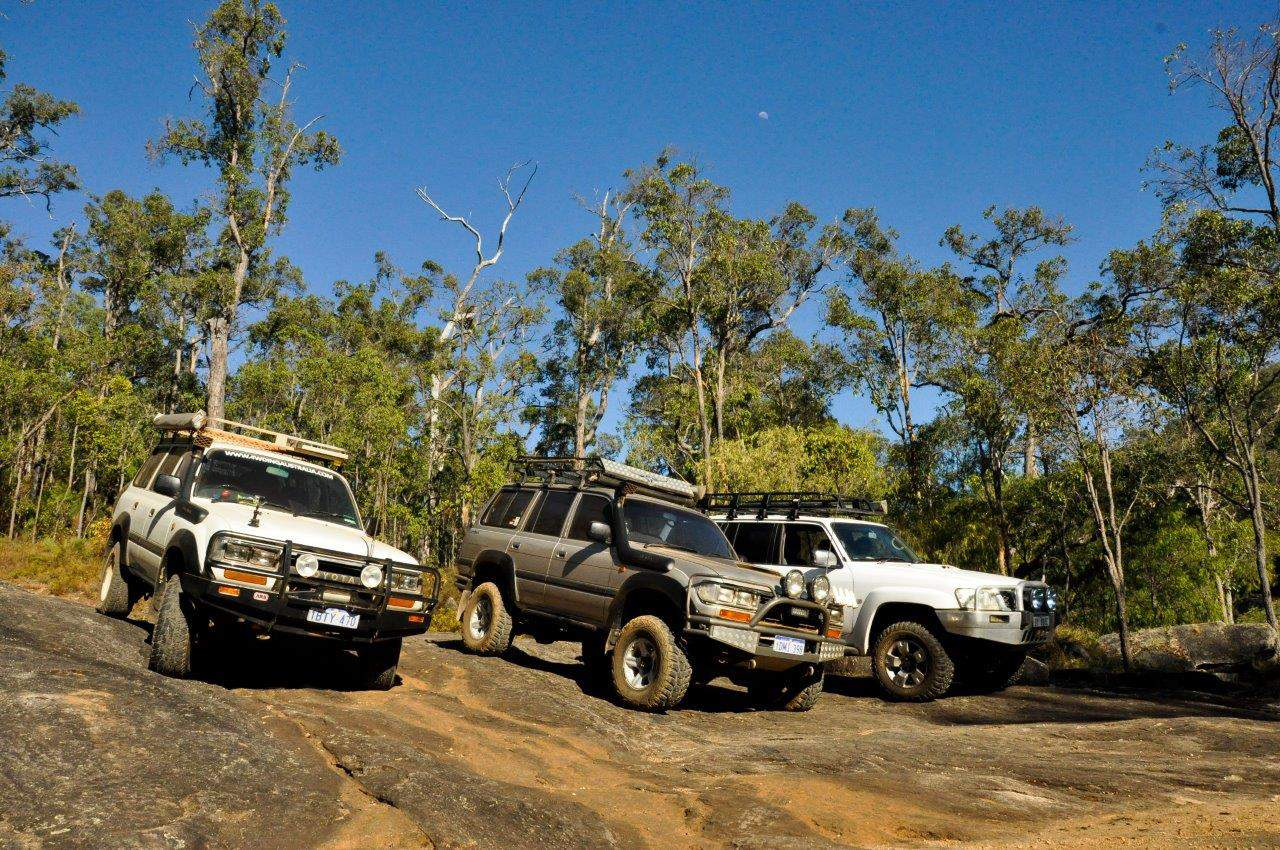 On the Lennard 4WD Track