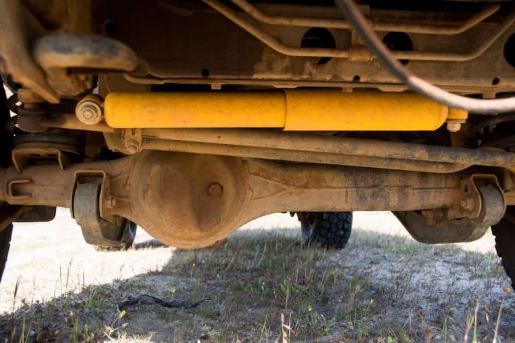 OME steering damper