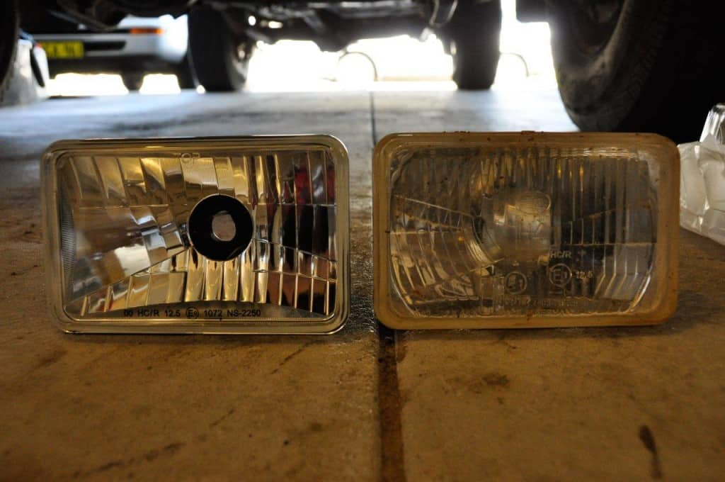 Old vs new headlights