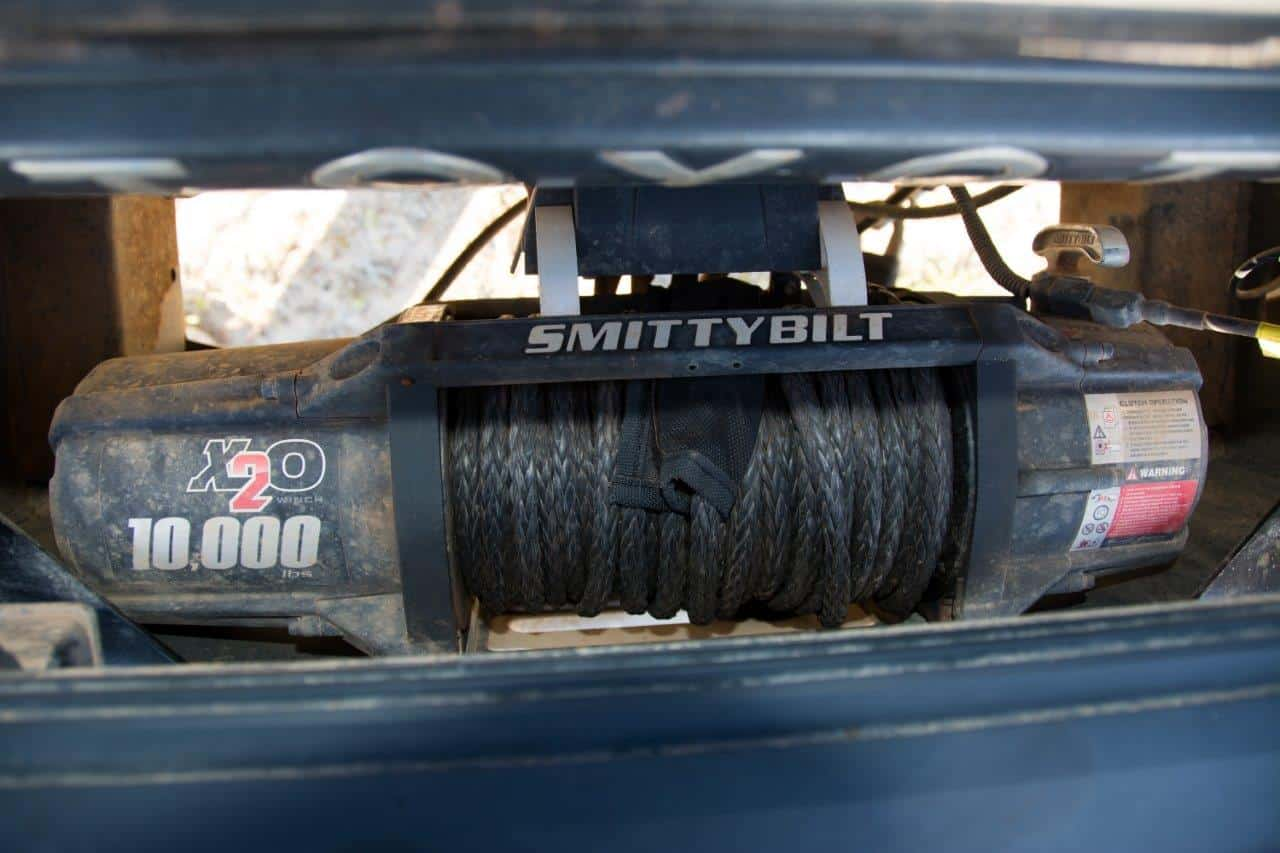 Winches on a 4WD