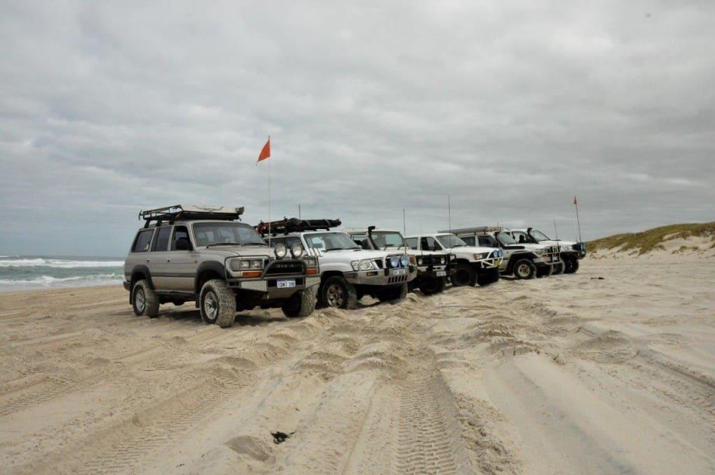 Yeagarup beach
