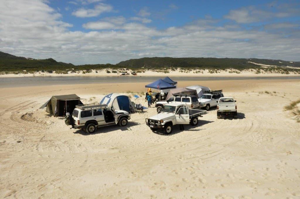 Yeagarup camping