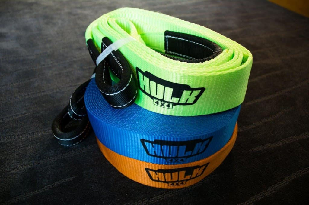 Hulk 4x4 recovery straps