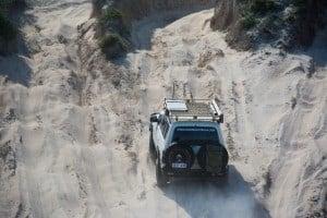 Fuel consumption on sand