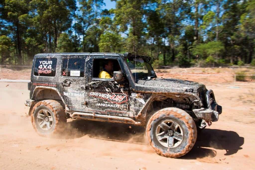 Driven 4x4 Jeep