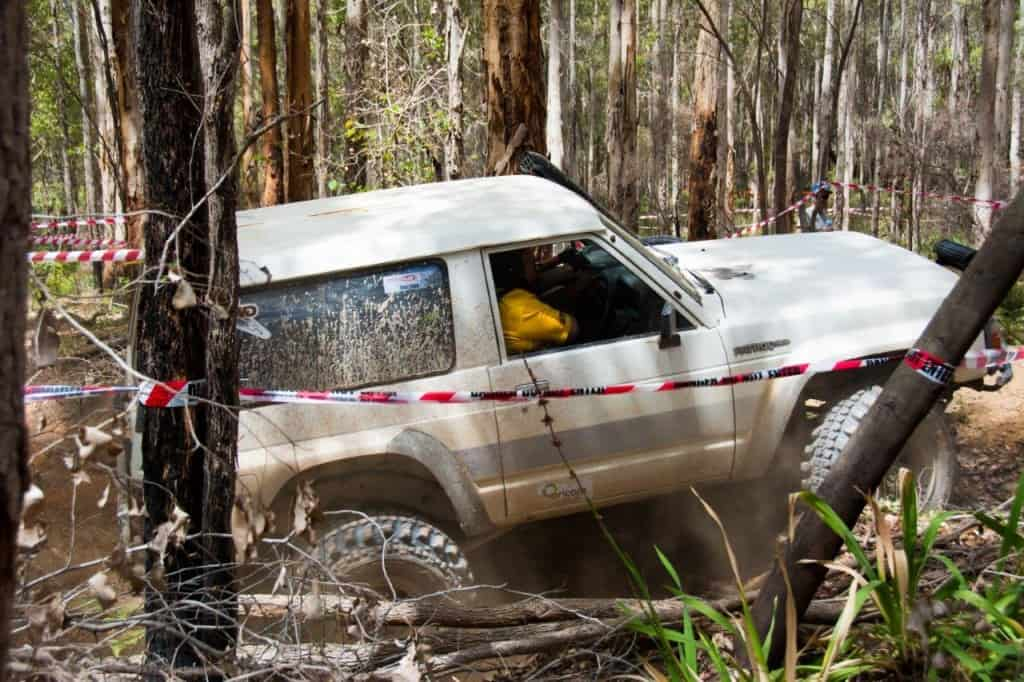 SWB GQ Patrol at Driven 4x4