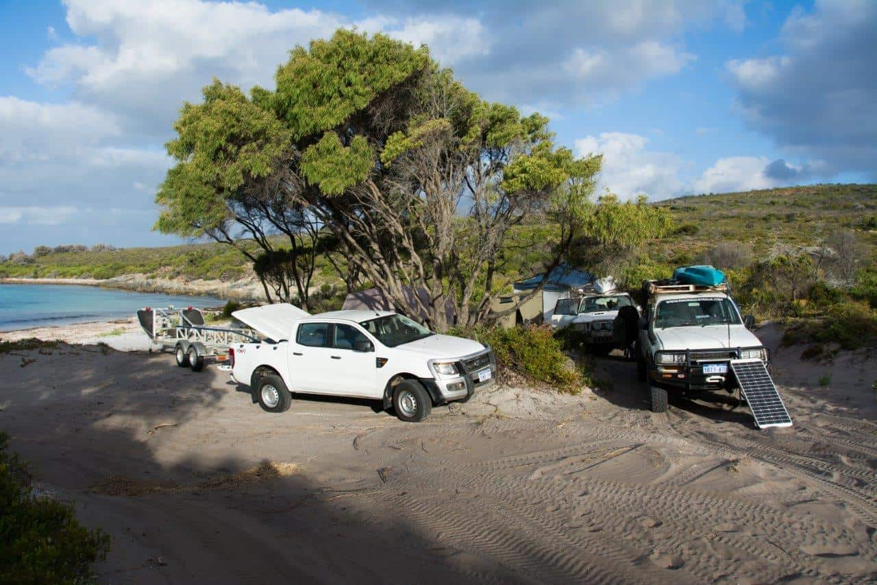 Camping at Bremer Bay