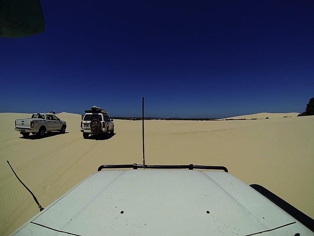 Enjoying the dunes