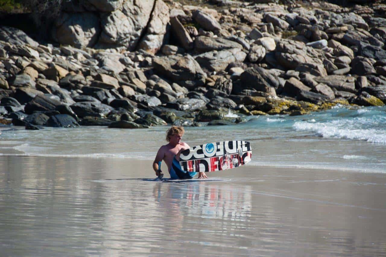 Winch wakeboarding