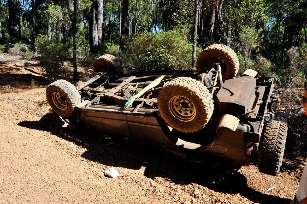 4WD roll over