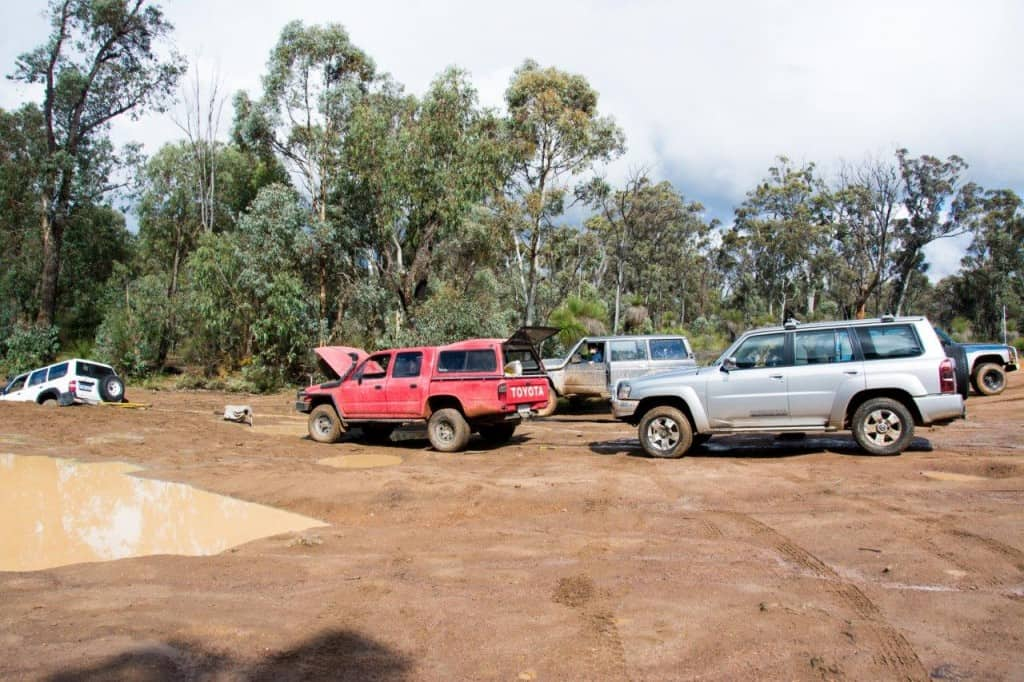Mundaring 4WD recovery