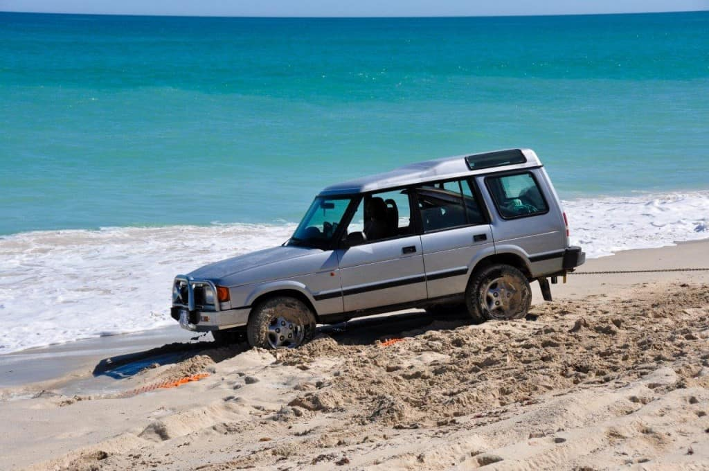 Ranger Rover recovery