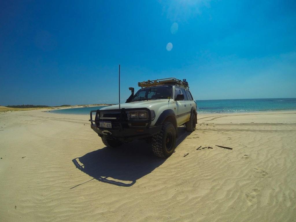 Kooljaman beach driving