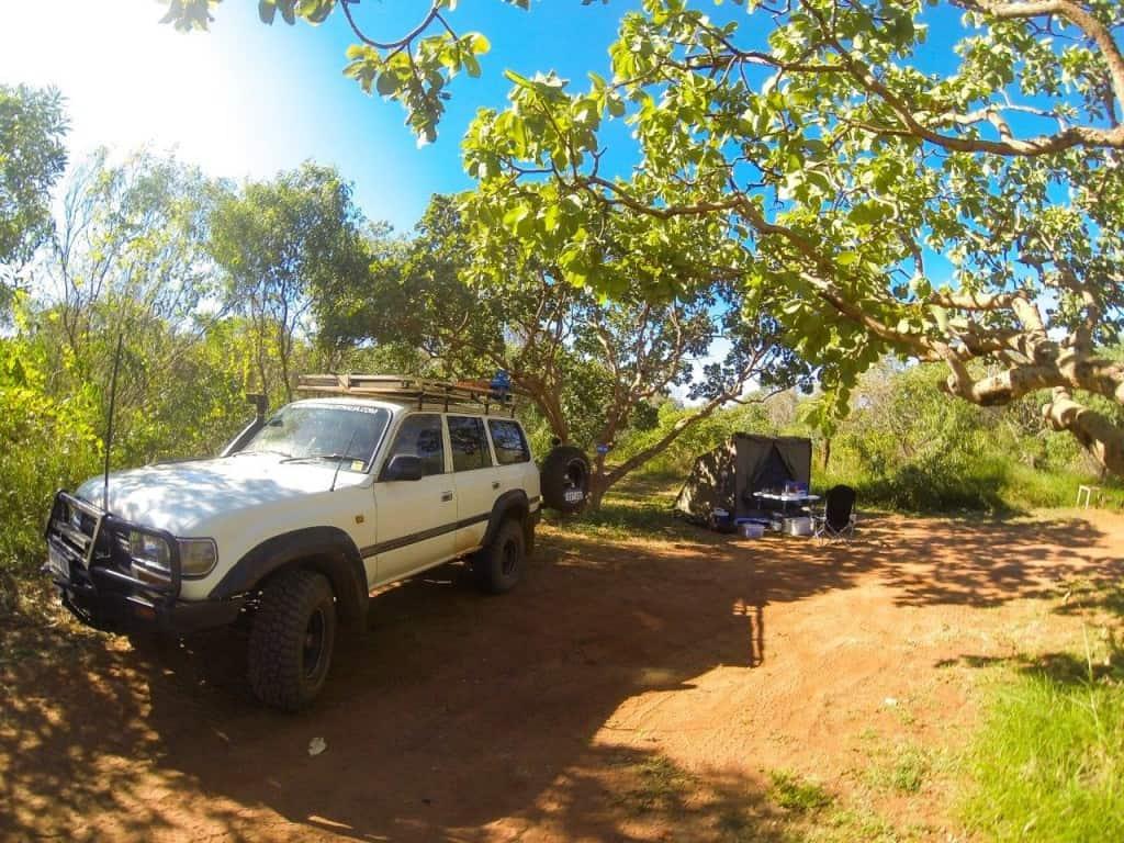 Middle Lagoon campsite 29