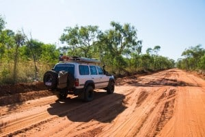 Road conditions Cape Leveque