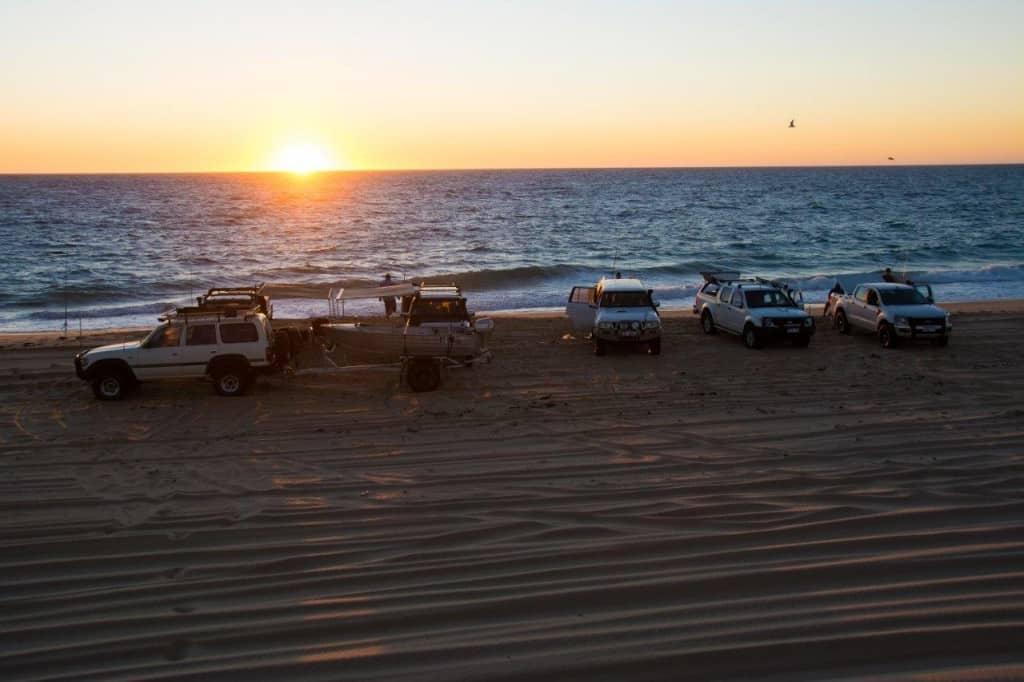 Sunset at Preston Beach