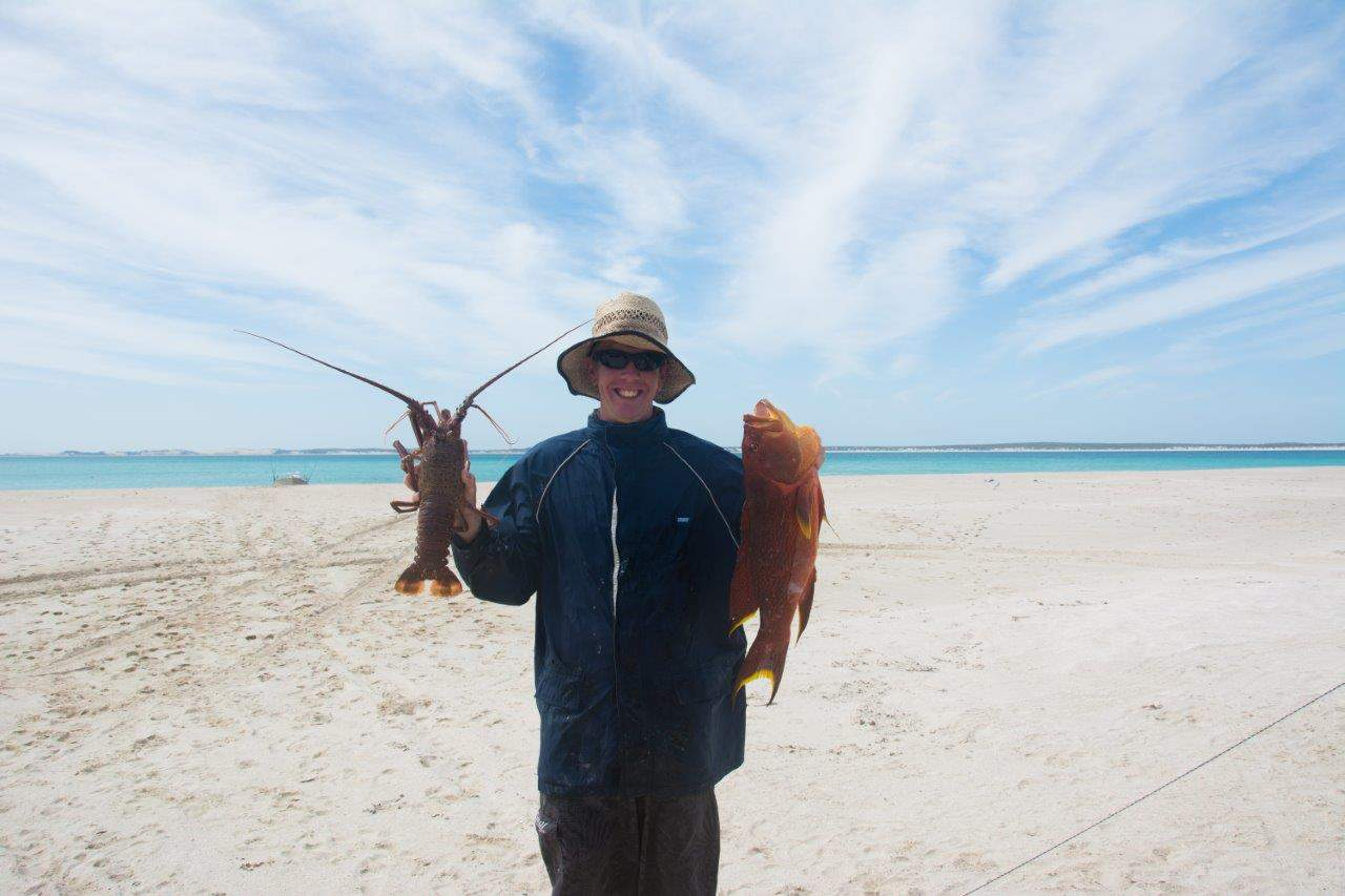 Crays and Fish at Steep point