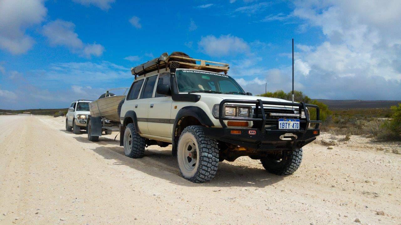 Land Cruiser tyre pressures