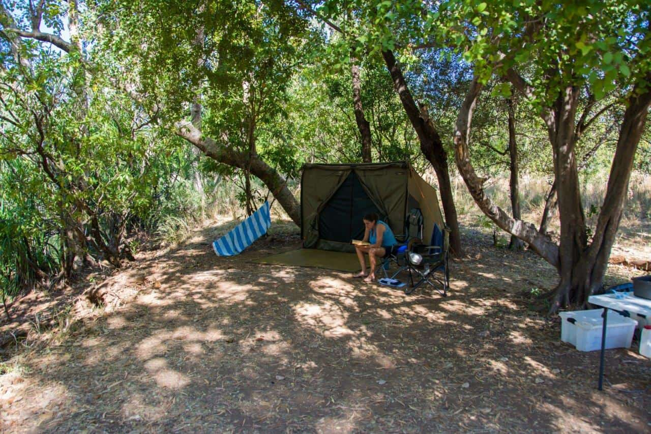 El Questro private camping