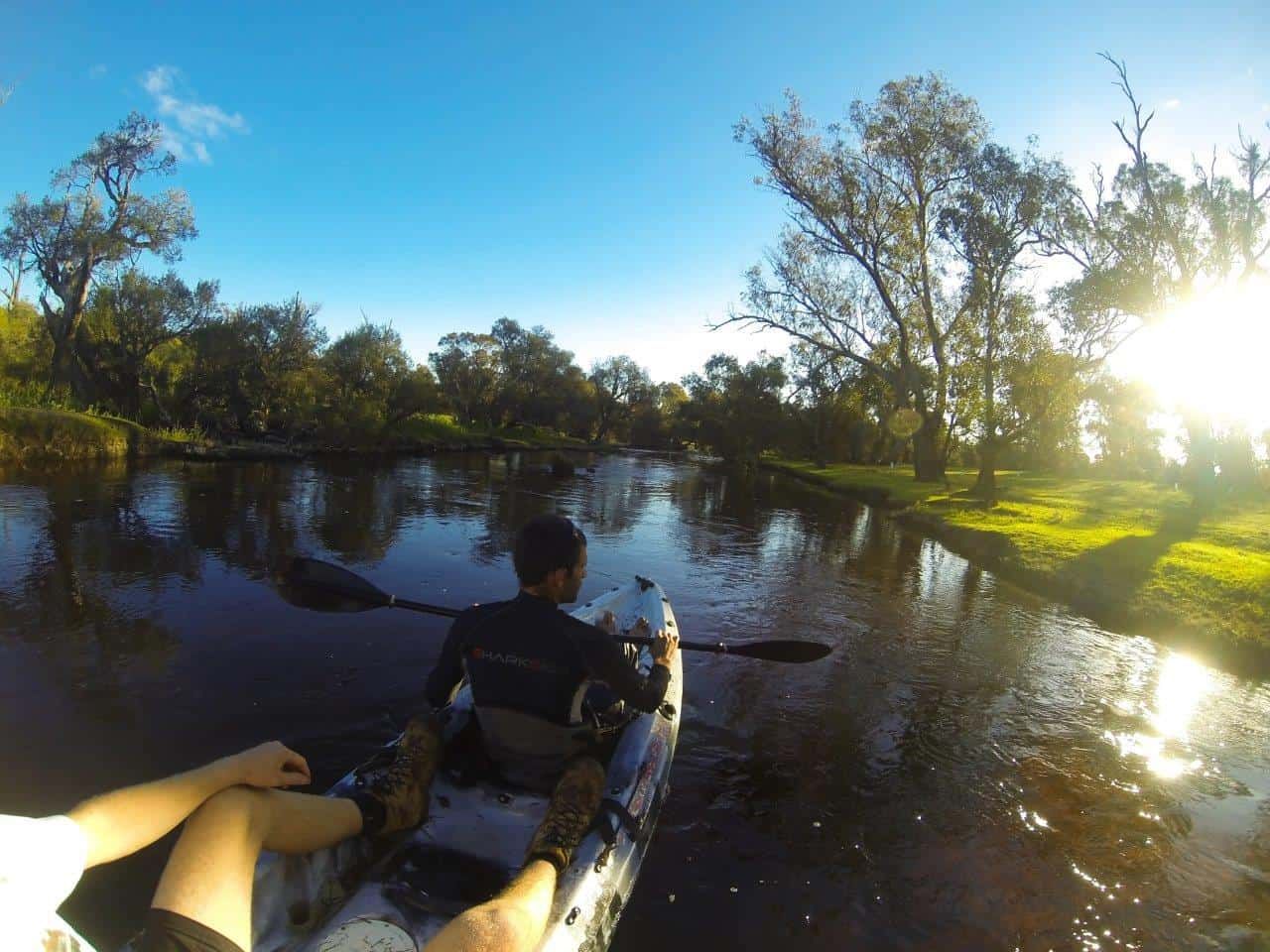 Blackwood River kayaking