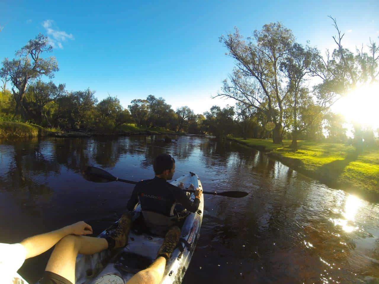 Blackwood River kayaking