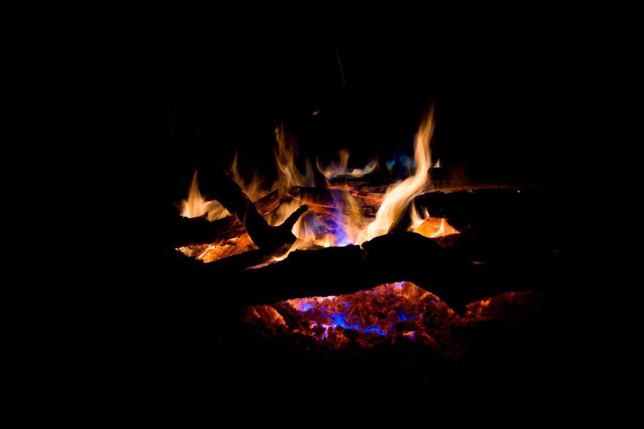Magic fire dust