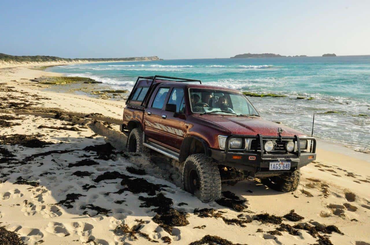 4WD insurance beach drivin