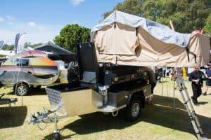 Camper trailer sleeping arrangements
