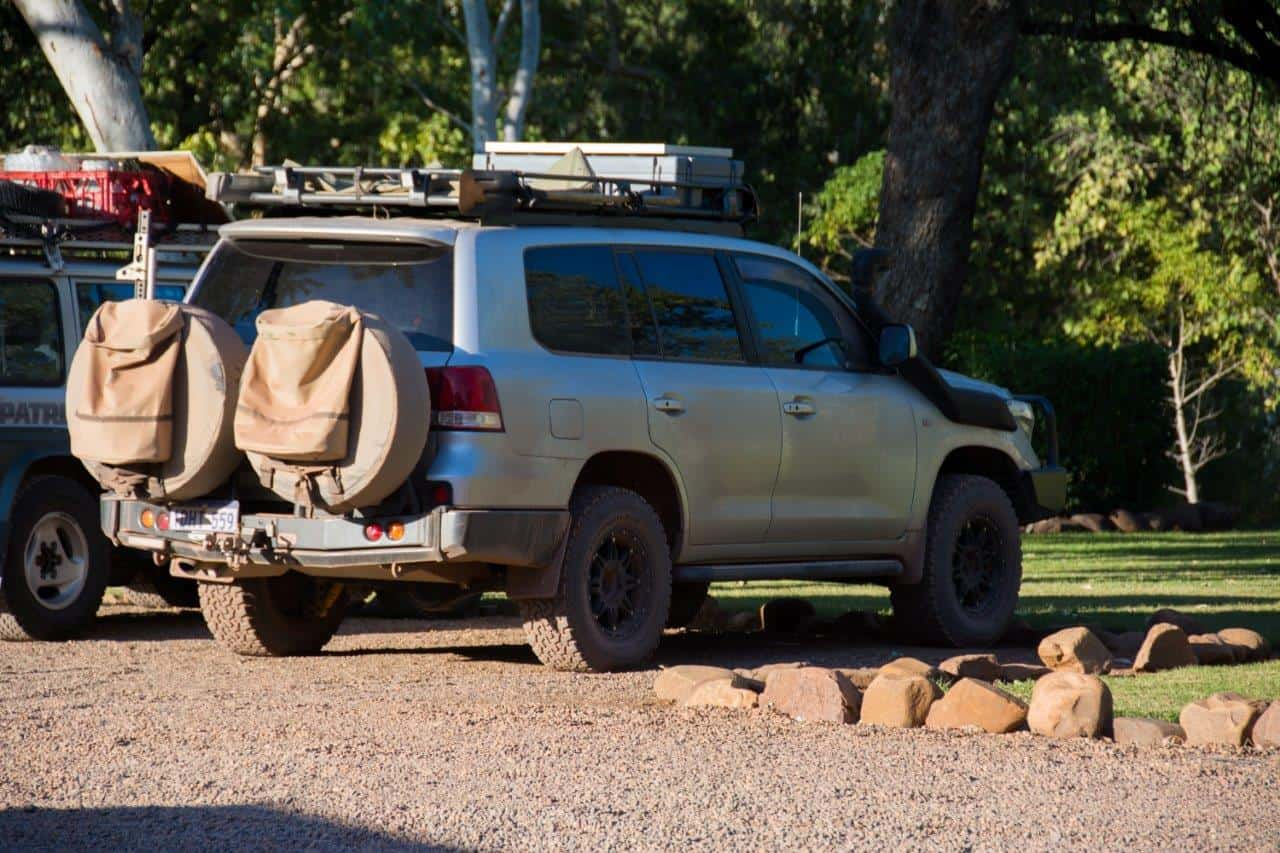 Roof Rack on a 200 series