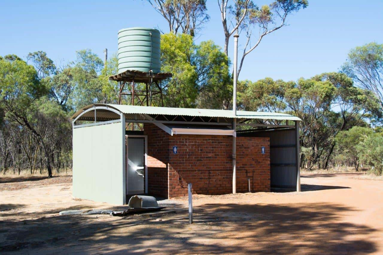 Toilets at Pumphreys Bridge