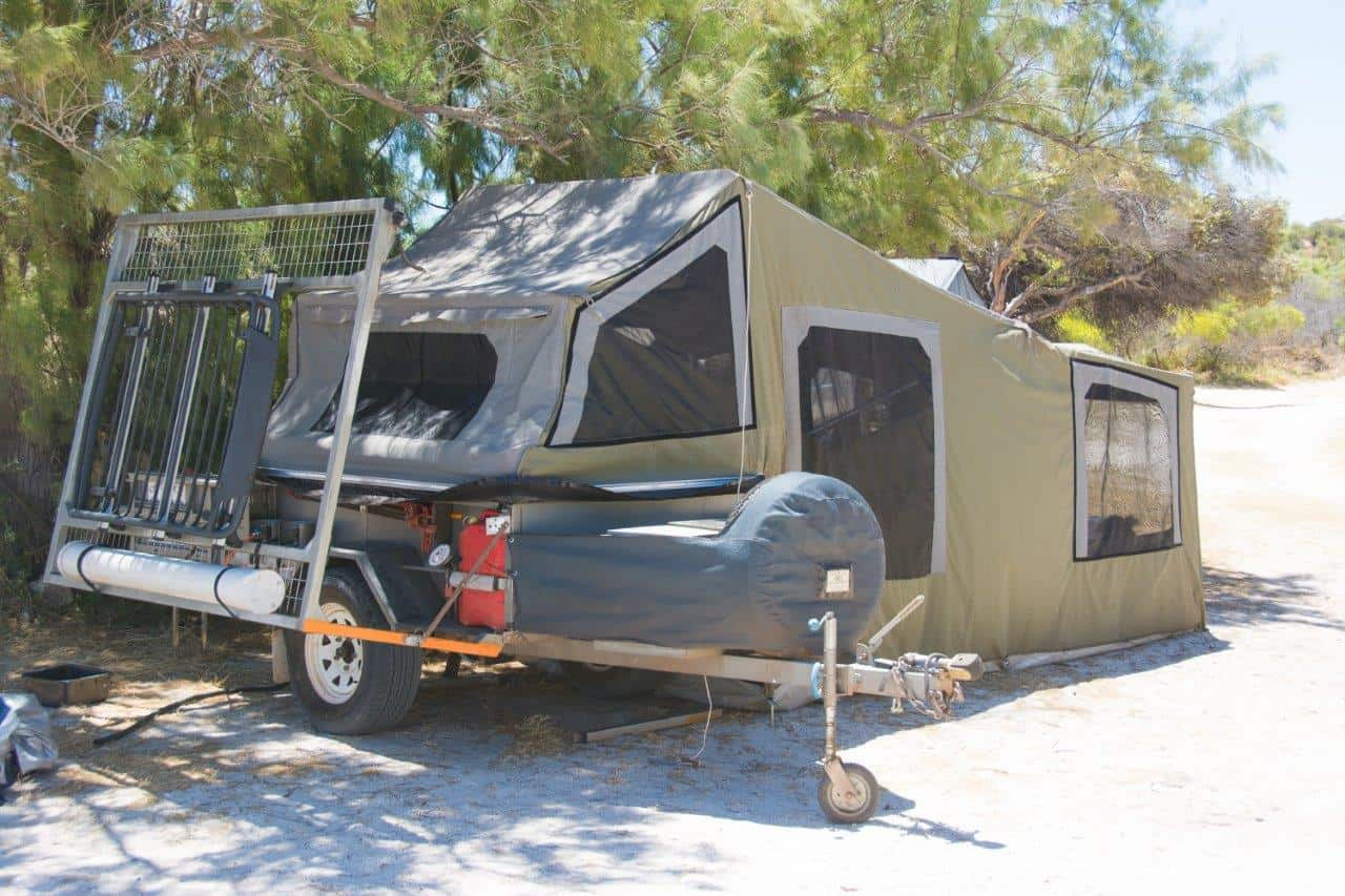 Camper Trailer soft floor