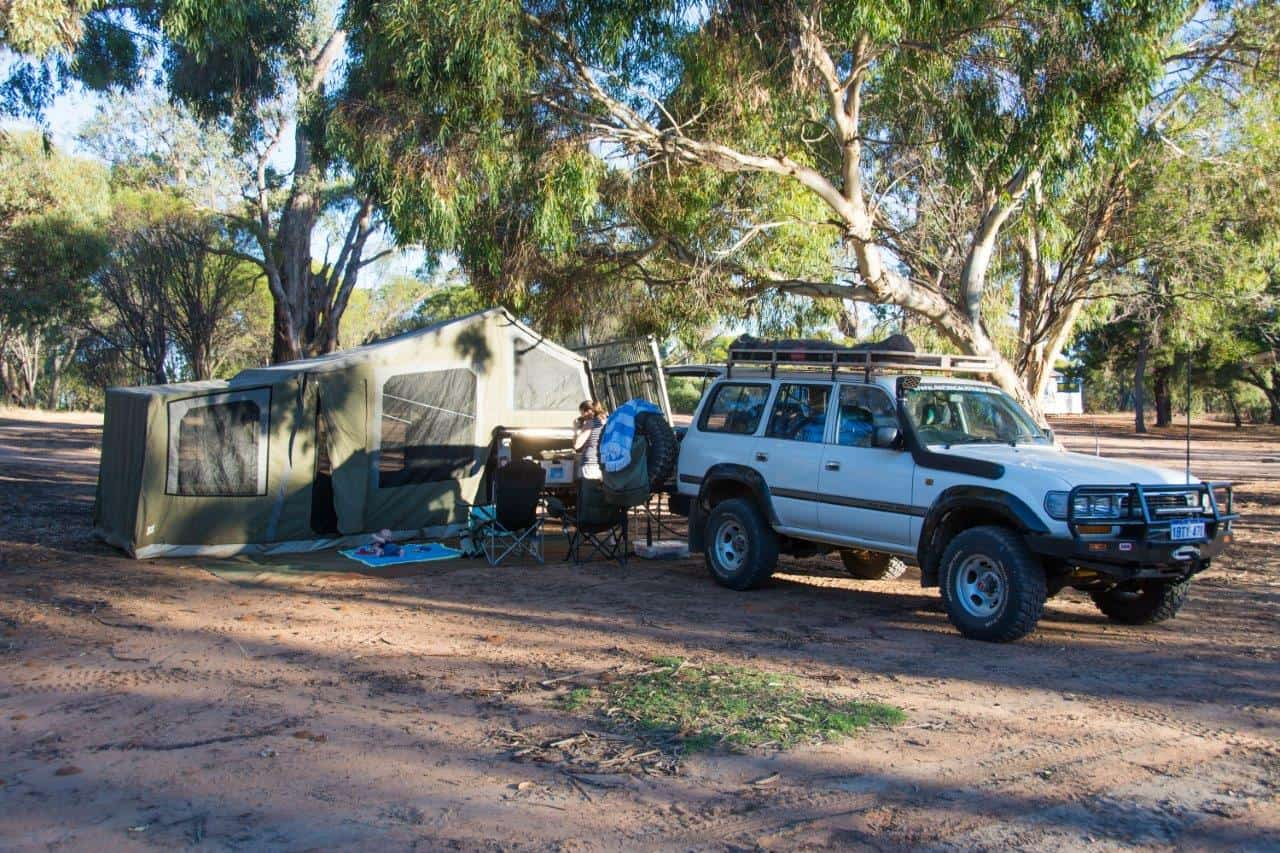 Pumphreys Bridge camping