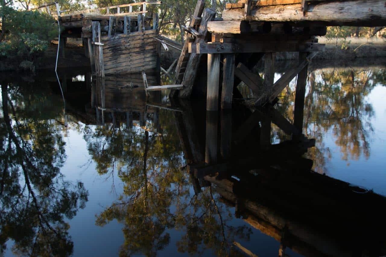 Pumphreys Collapsed Bridge