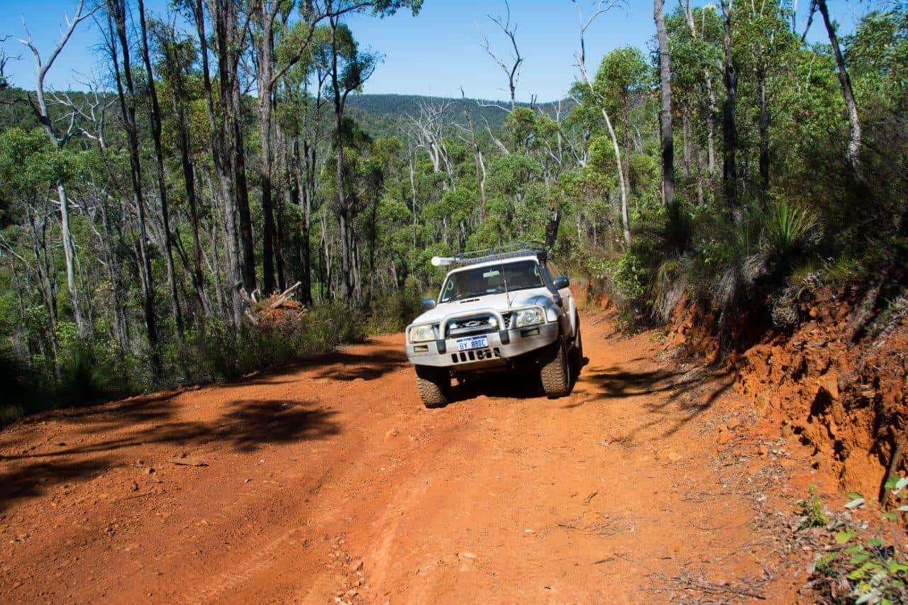 4WDing in Dwellingup