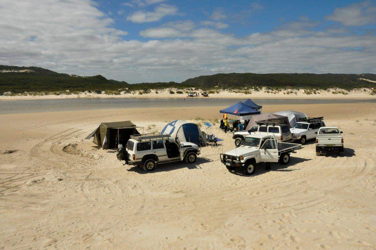 Camping setup times
