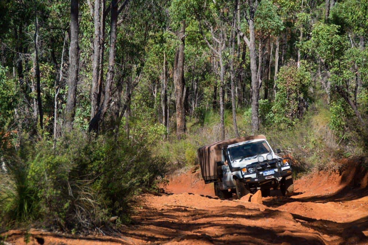 4WD Tracks around Dwellingup