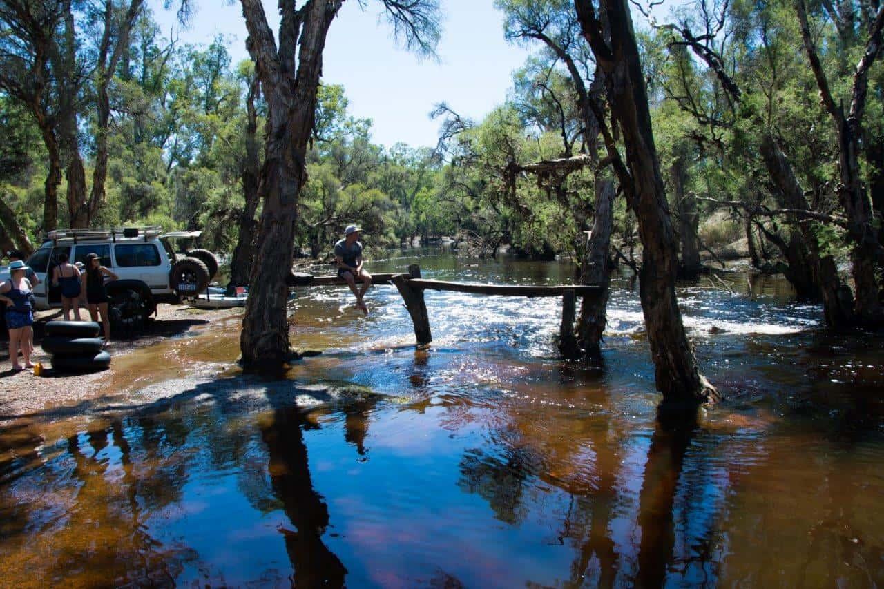 Dwellingup River Water Crossing